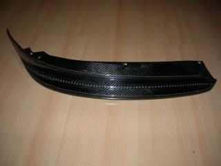 Карбоновая накладка на бампер (сплиттер) для BMW 3 серии E90 до рестайлинг