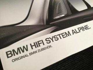 Комплект дооснащения аудиосистемой Hi-Fi Alpine