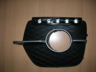 Дневные ходовые огни стиль Hamann, black для BMW X6 E71