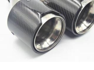 Насадки на глушители BMW M-power карбон