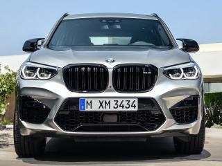 Решетки радиатора черные Competition для BMW X3 G01