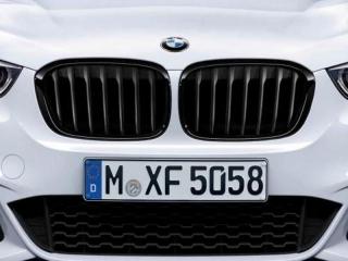 Решетки радиатора черные M Performance для BMW X1 F48