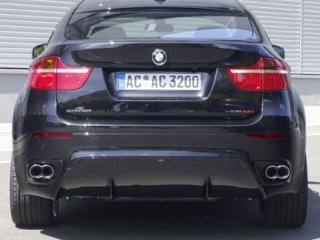 Накладка на задний бампер AC-Schnitzer для BMW X6 E71