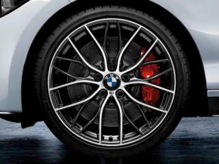 Комплект летних колес M Performance double Spoke 405 R20 для BMW 3 серии F30/31 и 4 серии F32/33/36