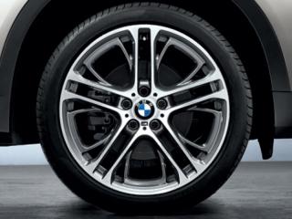 Комплект летних колес M Performance Double Spoke 310M R21 для BMW X6 E71