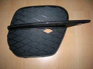 Карбоновая накладка на бампер для BMW X5 E70 LCI