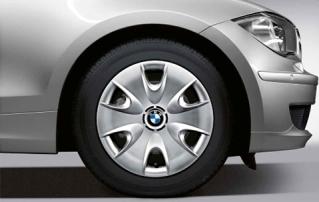 Комплект зимних шипованных штампованных колес R16 для BMW 1 серии E81/E82/E87/E88