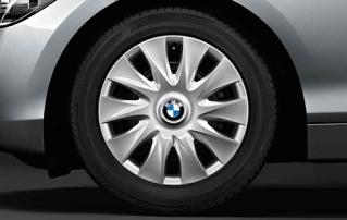Комплект зимних шипованных штампованных колес R16 для BMW 1 серии F20/F21 и 2 серии F22/F23