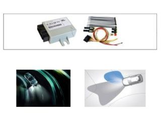 Адаптивное освещение с штатными галогеновыми противотуманными фарами для BMW 1 серии F20/F21, 2 серии F22/F23, 3 серии F30/F31/F34/F35, 4 серии F32/F33/F36