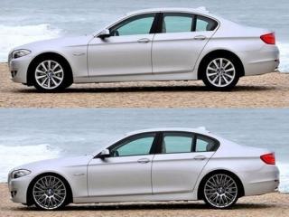 Накладки Shadow-Line для BMW 5 серии F10