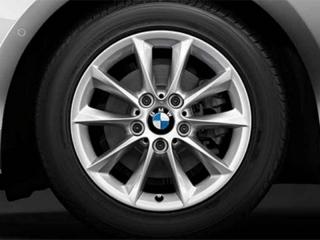 Комплект зимних нешипованных колес V-Spoke 411 R16 для BMW 1 серии F20/F21 и 2 серии F22/F23