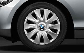 Комплект зимних нешипованных штампованных колес R16 для BMW 1 серии F20/F21 и 2 серии F22/F23
