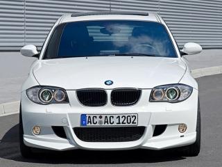 Накладка на передний бампер AC-Schnitzer для BMW 1 серии Е81/E87 с M-Tech