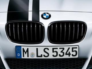 Решетки радиатора черные M-Performance для BMW 1 серии F20/F21