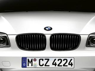Решетки радиатора черные M-Performance для BMW 1 серии E81/E87