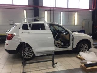 Кузовной ремонт для BMW X3 F25