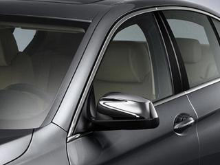Хромированные накладки на зеркала для BMW 5 серии F10/F11