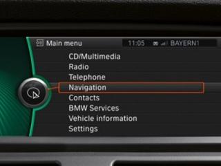GPS-навигация для BMW X6 E71