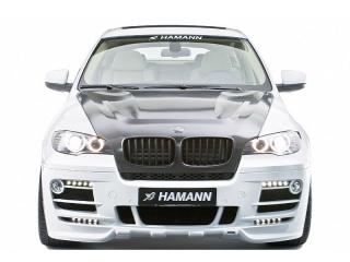 Передний бампер Hamann для BMW X6 E71 (4 ходовых огня)