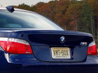 Задний спойлер в М-стиле на BMW 5 серии E60/E61