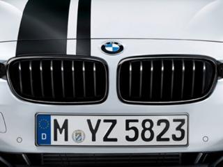 Решетки радиатора черные M-Performance для BMW 3 серии F30/F31