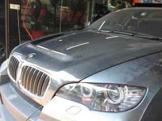 Карбоновый капот в стиле Hamann для BMW X6 E71 (копия)