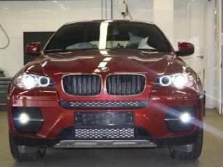 Светодиодные лампы в ПТФ для BMW X6 E71/E72