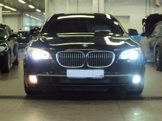 Светодиодные лампы в ПТФ BMW 7 серии F01/F02