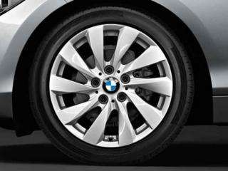 Комплект летних колес Turbine Spoke 381 R17 для BMW 1 серии F20/F21 и 2 серии F22/F23