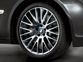 Комплект летних колес Cross Spoke 312 R21 для BMW GT F07 и 7 серии F01/F02