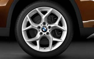 Комплект летних колес Y-Spoke 322 R18 для BMW X1 E84