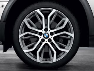 Комплект летних колес Performance Y-Spoke 375 R21 для BMW X5 E70