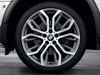 Комплект летних колес Performance Y-Spoke 375 R21 для BMW X6 E71
